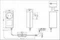 36W美规开关电源适配器  2