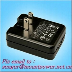 Sell USB Battery charger 5V0.5A Model:GFP051-0505-1(US plug)