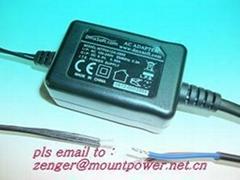 销售桌面式9V0.65A开关电源适配器
