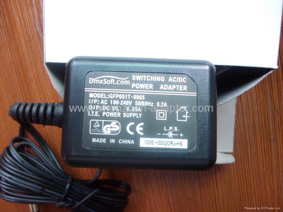 销售5W欧洲开关电源适配器 5