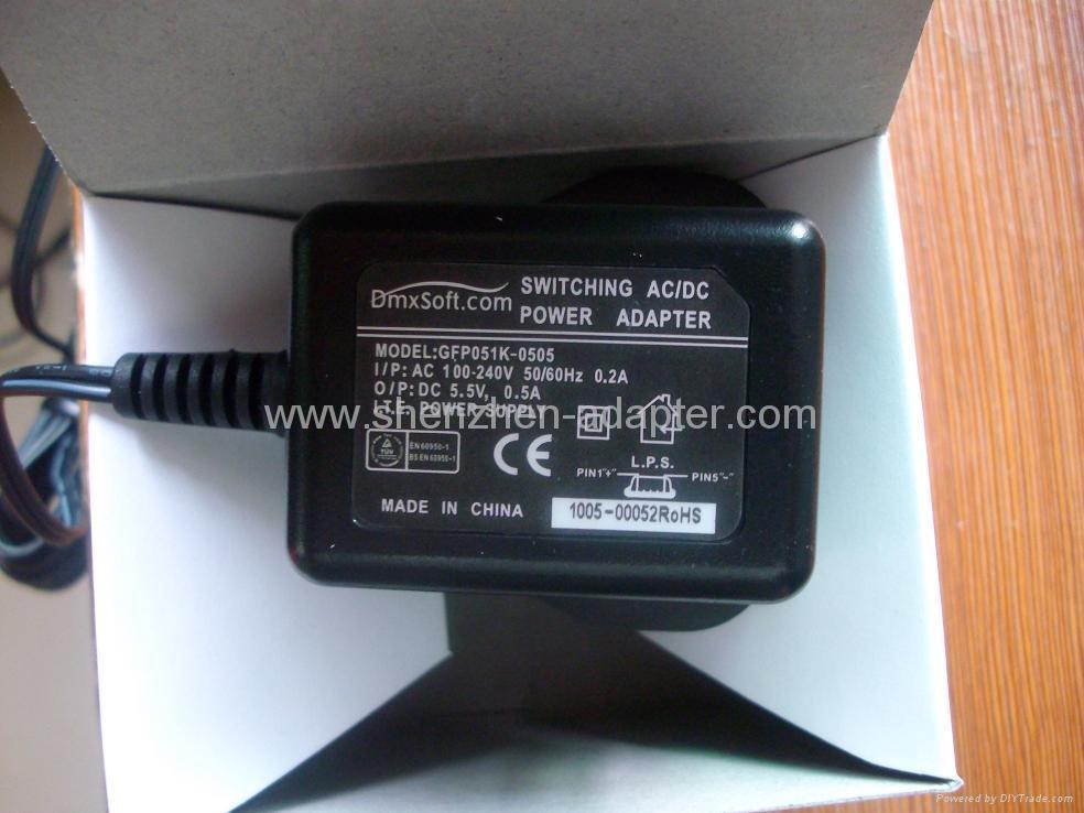 销售5W英国开关电源适配器 5