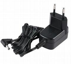 销售5w 欧洲插墙式开关电源适配器