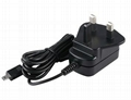 Sell 5w England Wall mount type switching power supply adapter  2