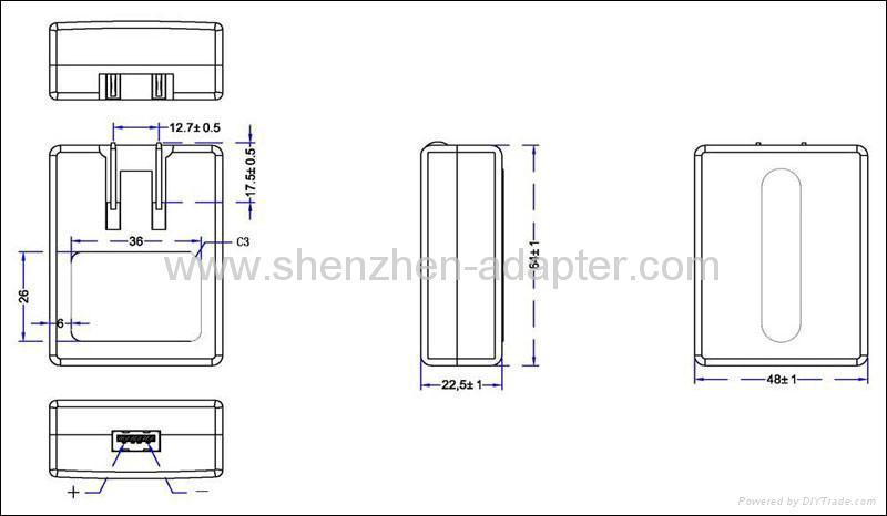銷售5V1A USB充電器 2