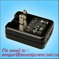 Sell Folding AC plug USB AC/DC adapter for USA/Japan 1