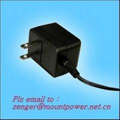 銷售12v500ma美規開關電源 充電器