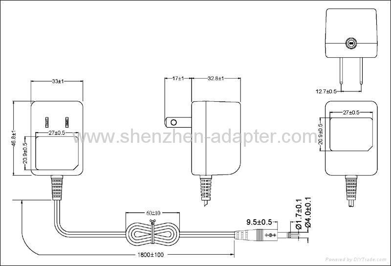 销售5V0.5A 美规开关电源,适配器 3