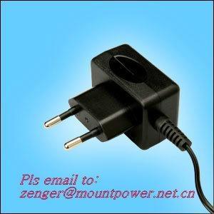 工厂销售5V0.5A欧规充电器 1