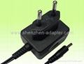 工厂销售5V0.5A欧规充电器 2