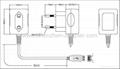 工厂销售5V0.5A欧规充电器 3