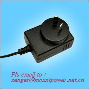 Sell 5V0.5A Switching AC/DC Adapter  SAA plug  1