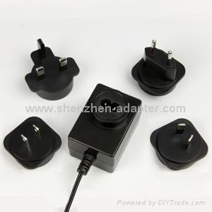 销售12W美式开关电源适配器 5
