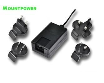 Sell 24W INTERCHARGEABLE PLUG switching power supply 5
