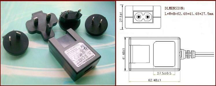 销售5W可换头USB充电器 1