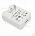 銷售5V1A  白色USB充電器