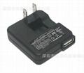 銷售5V1A  白色USB充電器 2