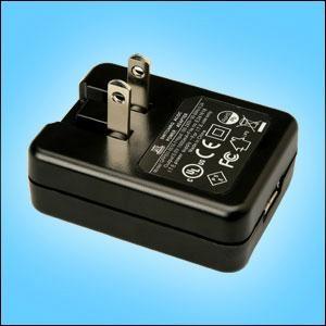 銷售5V1A  白色USB充電器 4