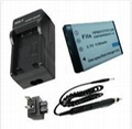 Battery Charger for Fuji NP-60  4