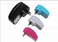 销售美规USB 5V0.5A电池充电器&适配器 4