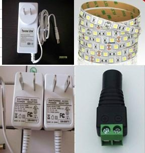 wholesales 12V1A AC adapter for led strip light 4