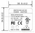 销售桌面式5V1A开关电源适配器 2