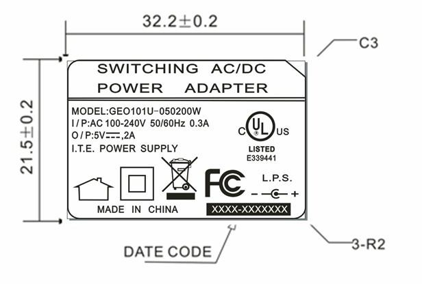 5V2A PSE AC/DC POWER ADAPTER 3