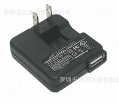 销售12V0.5A USB充电器