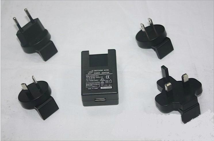 Sell 5W Interchangeable plug power adapter  4