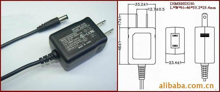 12V安防摄像头电源,安防摄像头适配器 1