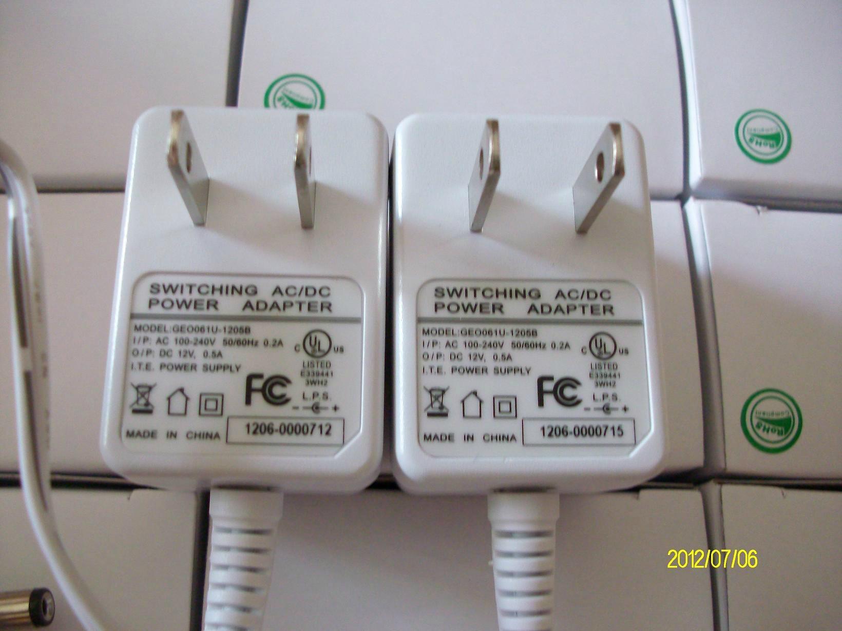 12V1A 日本 安防電源適配器,開關電源,充電器 17