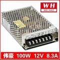 Sell MS-100-12 12V8.3A  power supply