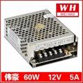 正品電源 MS-60-12 12V5A