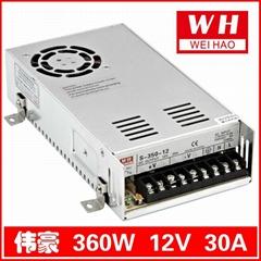 正品电源   S-360-12 12V30A