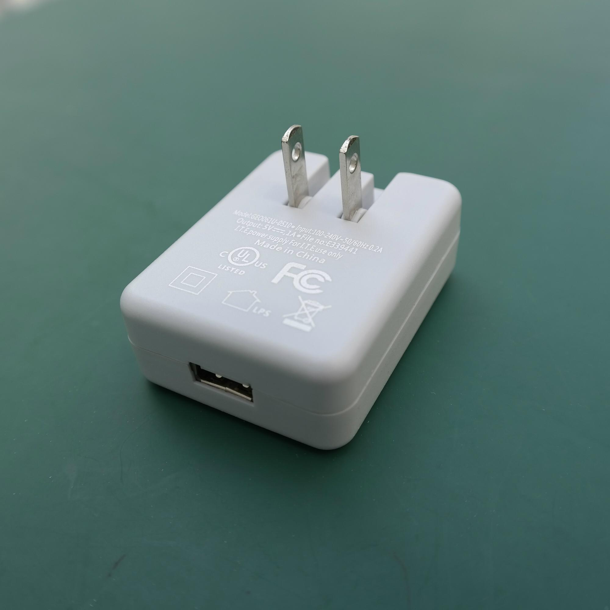 Sell USB Battery charger 5V0.5A Model:GFP051-0505-1(US plug) 10