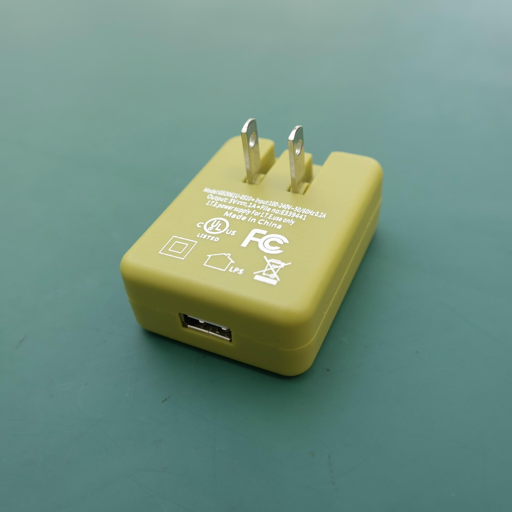 銷售美規USB 5V0.5A電池充電器&適配器 11