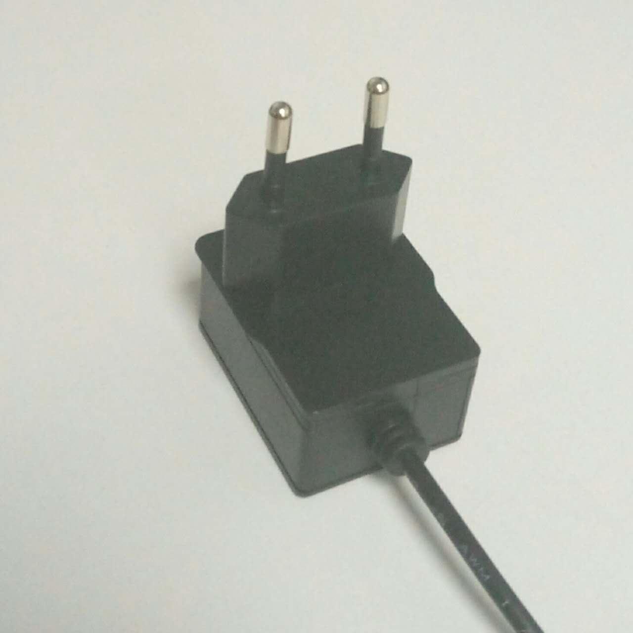 12V0.5A 欧规充电器 欧规适配器 欧规开关电源 3