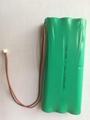 6PH-AA 1500-H-C28  7.2V1500mAh NI-MH Battery