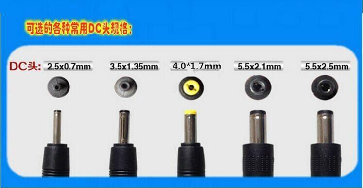 Wholesales 12V0.5A  AC/DC adaptor 3