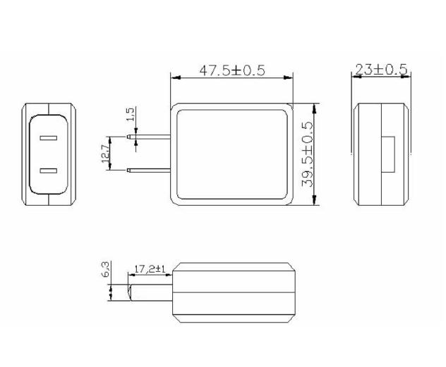 现货Merryking 12V1A 安防摄像头电源 LED灯带电源 3