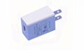 5V1A美規電源適配器 5V1000MA充電頭 白色 過ETL/FCC 現貨促銷 3