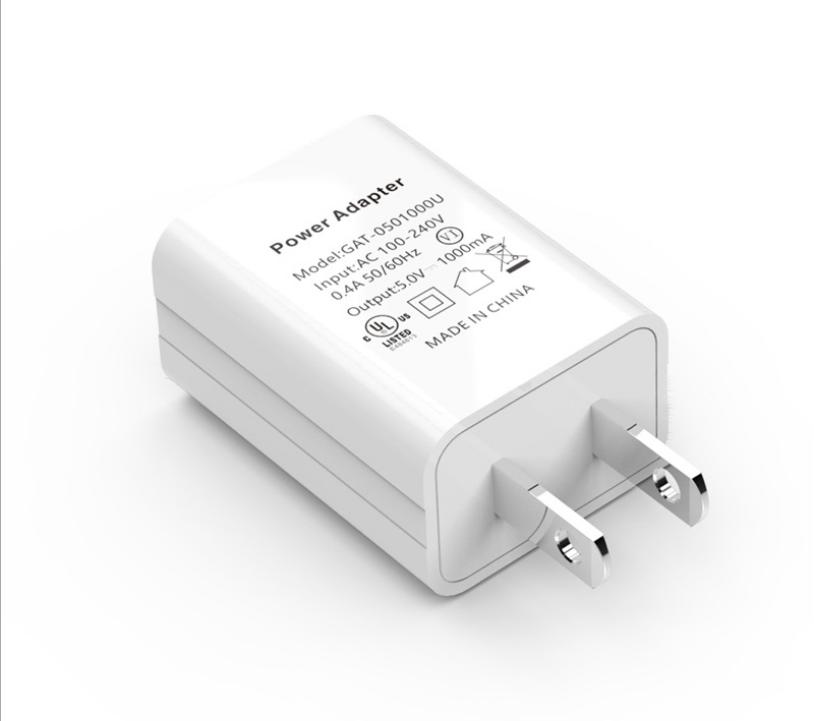 批发美国USB手机充电器 过UL认证5V1A手机充电头 美规亚马逊适配器 3