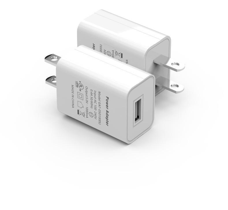批发美国USB手机充电器 过UL认证5V1A手机充电头 美规亚马逊适配器 8