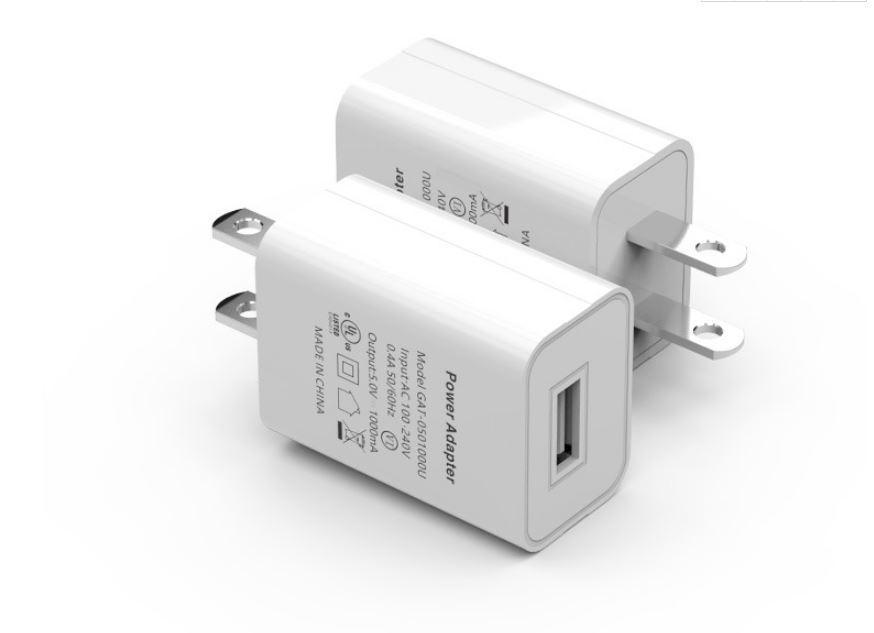 批發美國USB手機充電器 過UL認証5V1A手機充電頭 美規亞馬遜適配器 11