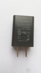 批发UL认证充电器5V1A,出口美国,黑色