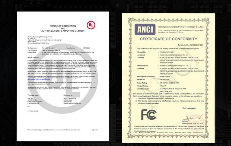 批發UL認証充電器5V1A,出口美國,黑色 4