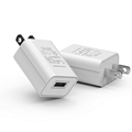 wholesales 5V1A PSE USB ADAPTER,PSE USB CHARGER,White/Black