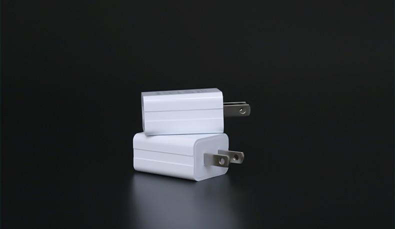 批發PSE認証充電器5V1A,黑白兩色 14