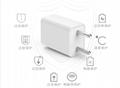 批發CE認証充電器5V1A,黑白兩色GAT-0501000 2