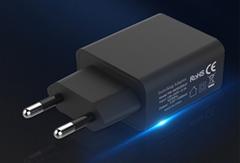 wholesales EU 5V2A USB Wall Charger Plug,white/black