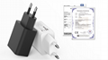 wholesales EU 5V2A USB Wall Charger Plug,white/black